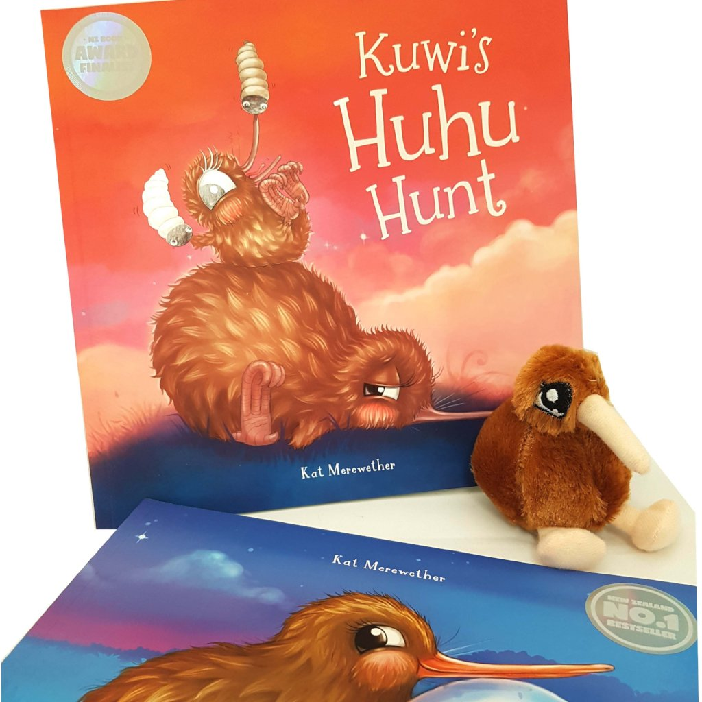Kuwi the Kiwi Books Gift Set