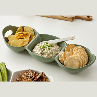 Ladelle Host three part handled serving bowl from funky gifts nz