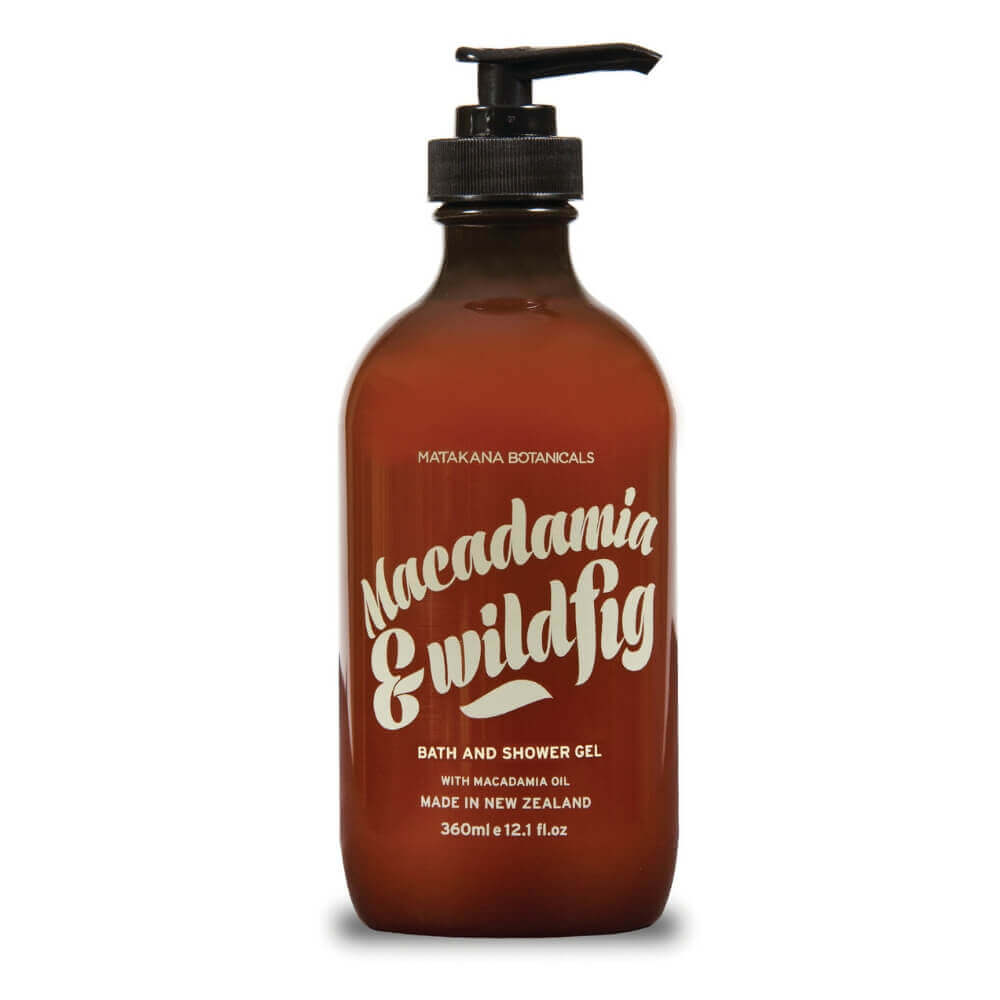 MATAKANA BOTANICALS - MACADAMIA & WILDFIG - Bath & Shower Gel