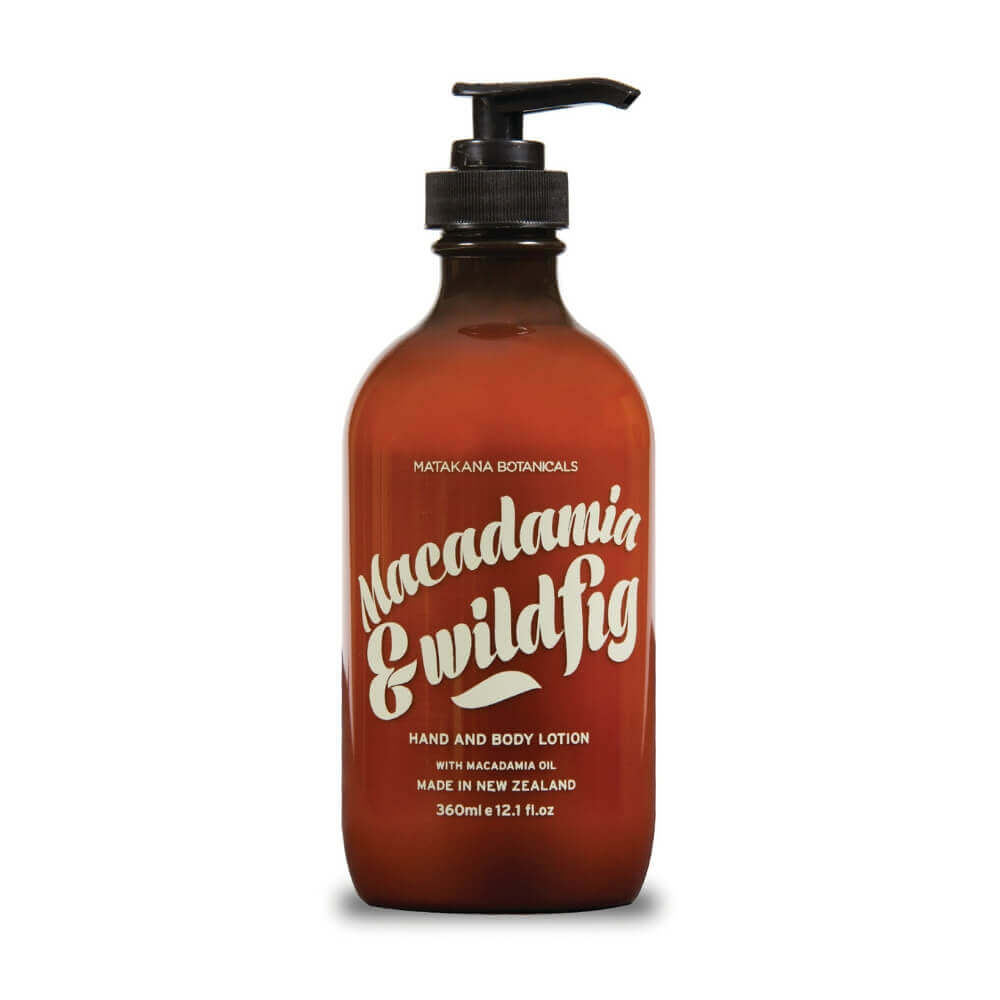 MATAKANA BOTANICALS - MACADAMIA & WILDFIG - Body Lotion
