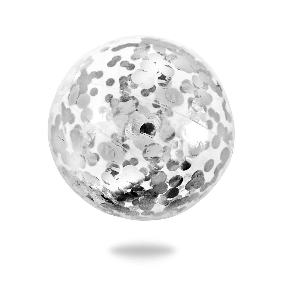 Minnidip Silver Confetti Beach Ball