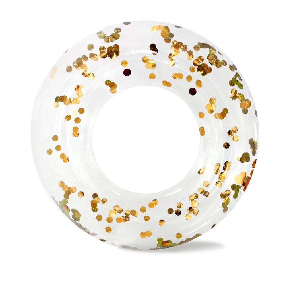 Minnidip Gold Confetti Ring Float