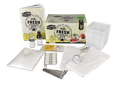 Mad Millies Fresh Cheese Kit Contents
