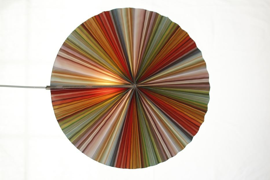Mutti Coloured Disc Lantern Lamp Shade