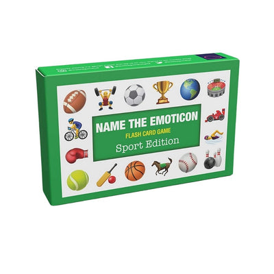 Name the Emoji game Sports Edition from Funky Gifts NZ
