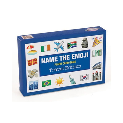 name the emoji game travel edition from funky gifts nz