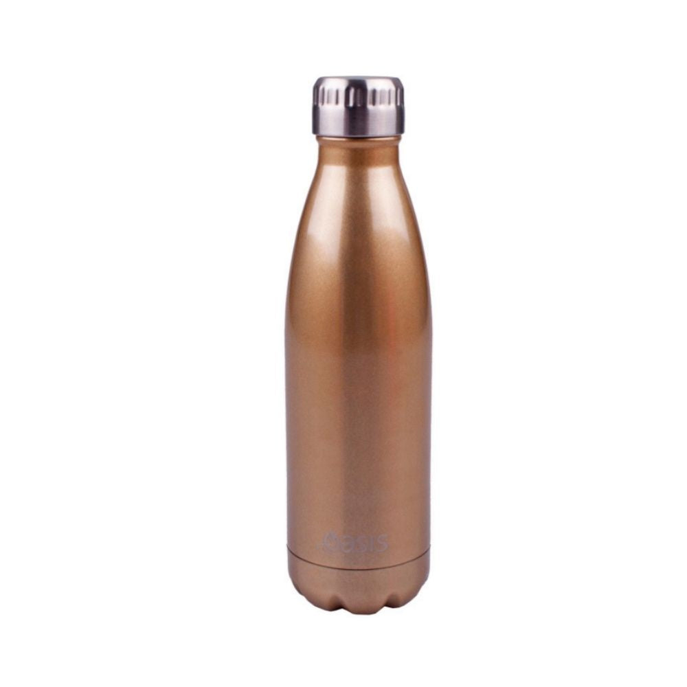 Oasis Stainless Steel Bottle 500ml - Copper