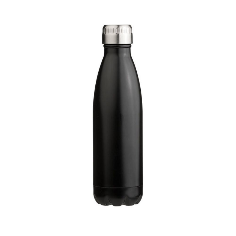 Oasis Stainless Steel Bottle 500ml - Matte Black