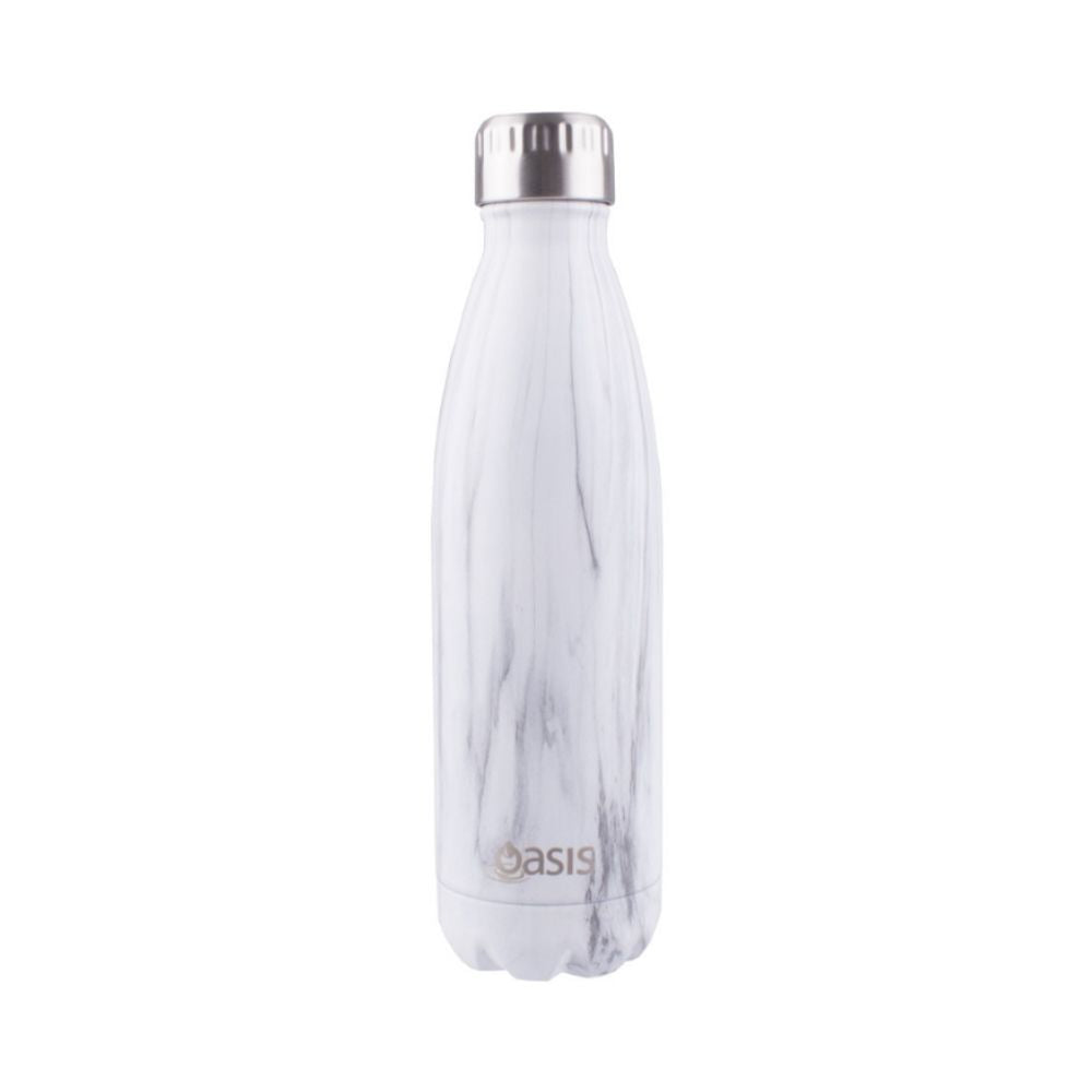 Oasis 500ml Marble Drink Bottle from Funky Gifts NZ