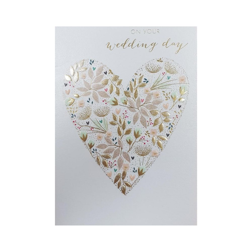 On your wedding day greeting card from Funky Gifts NZ