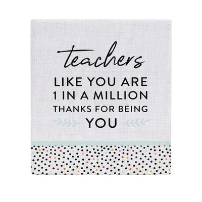 Thank You Teacher Verse from Funky Gifts NZ