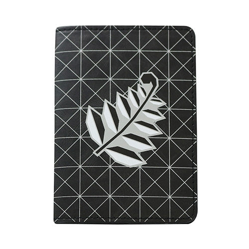 Geometric Fern Passport Holder