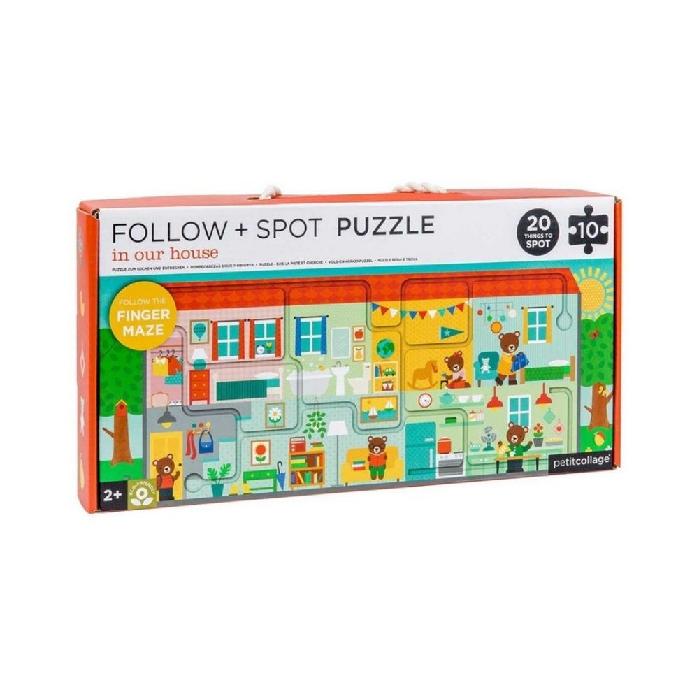 Follow and Spot Puzzle In Our House from Funky Gifts NZ