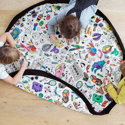 Play & Go Mat - Colour My Own