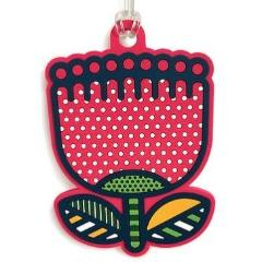 Luggage Bag Tag - Pop Pohutukawa