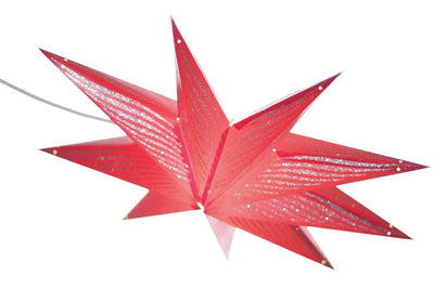 Red Star Lantern Lamp Shade