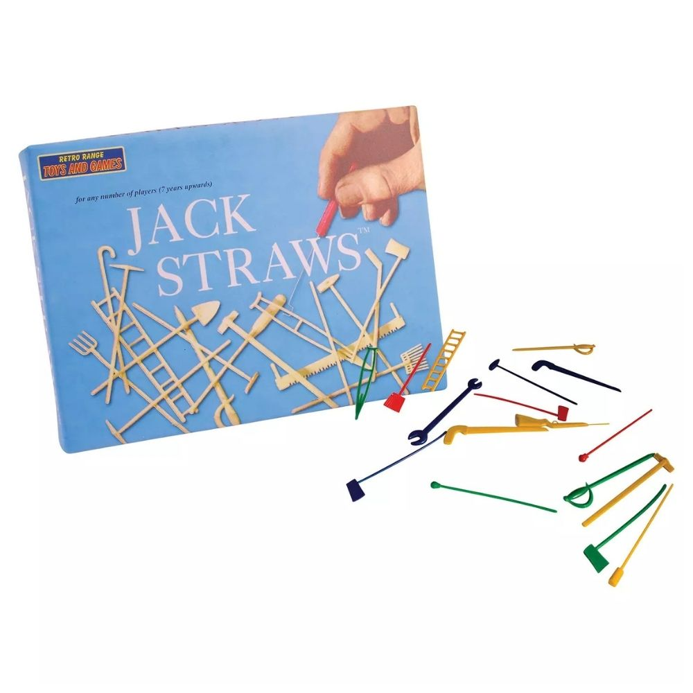 Retro Jack Straws Game from funky gifts nz