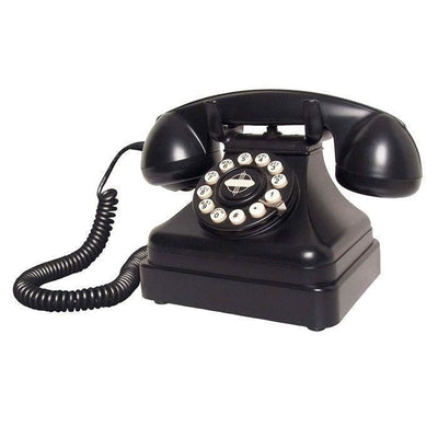 Retro 1950's Black Desk Phone