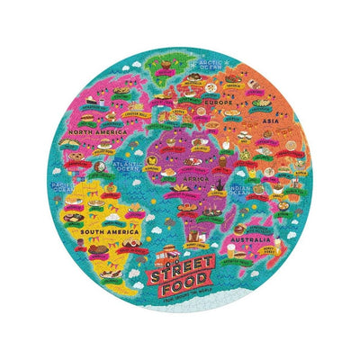 Ridley's Street Food Jigsaw Puzzle from Funky gifts nz