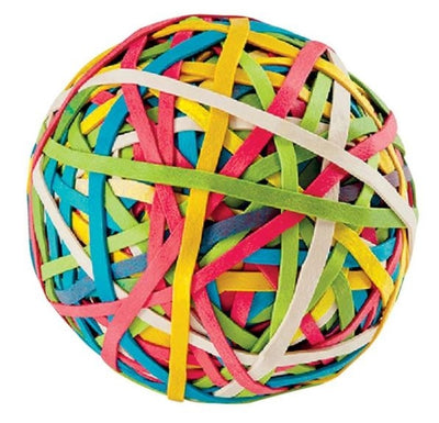 Vintage Rubber Band Ball