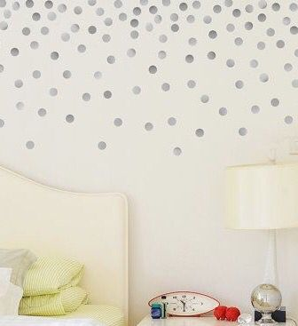 Home Decor Sticker Range - Polka Dots