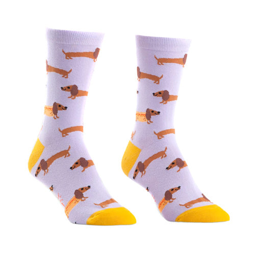Sock It To Me - Women's Crew - Hot Dogs
