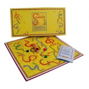 Retro Snakes and Ladders