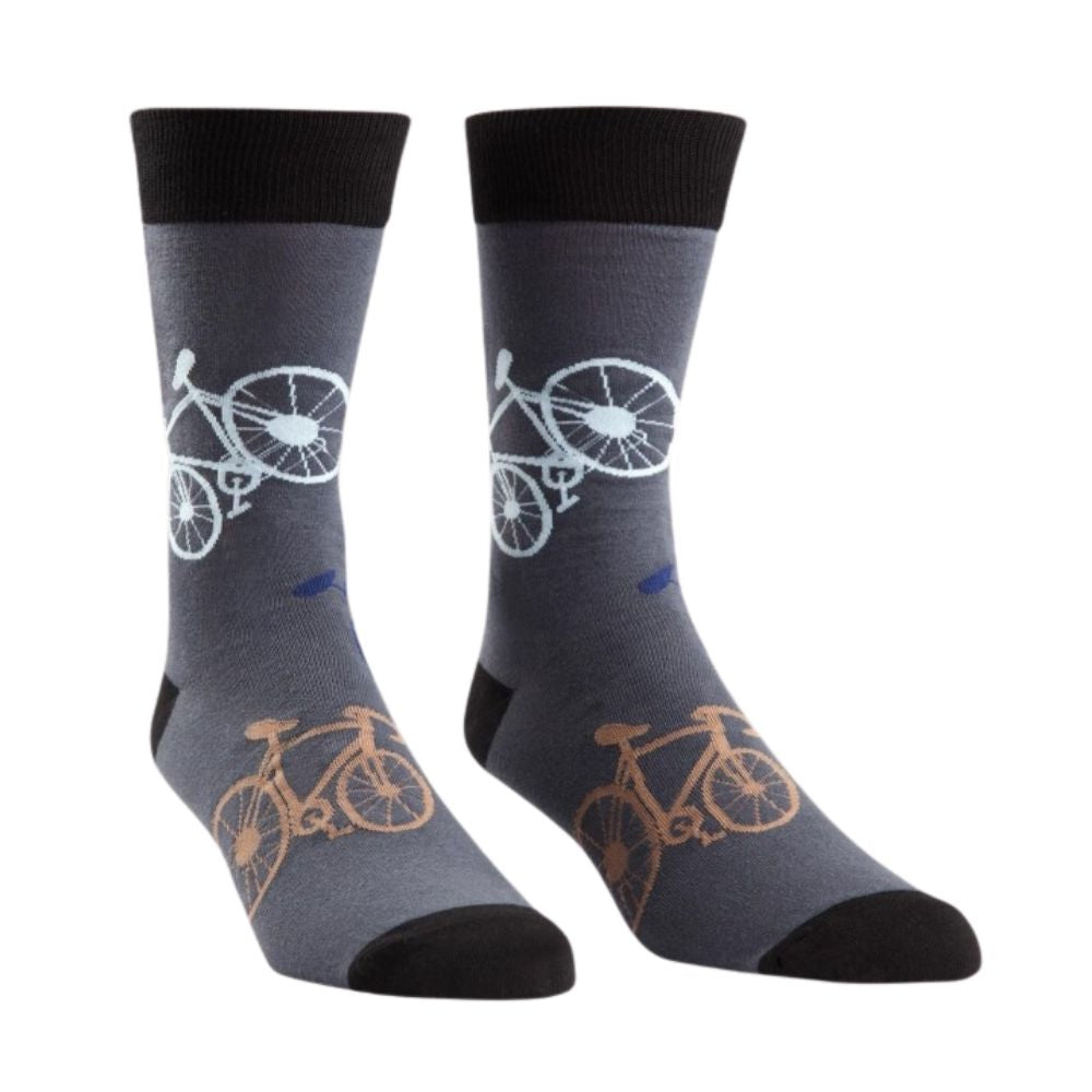 Sock It To Me - Crew Socks - Large Bikes