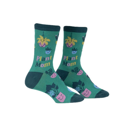sock it to me plant mom socks from funky gifts nz