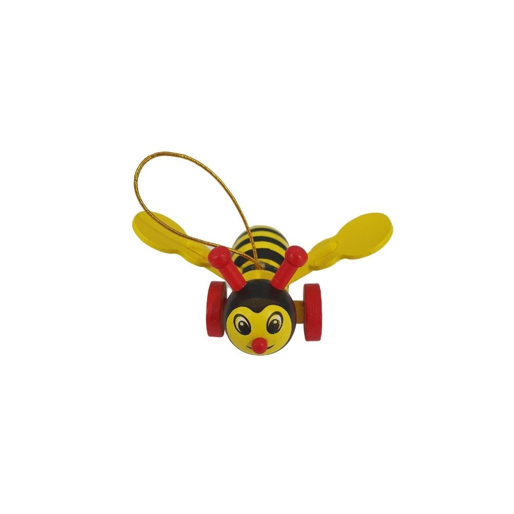 Wooden Buzzy Bee Magnet