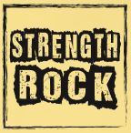 Happiness Rock - STRENGTH ROCK