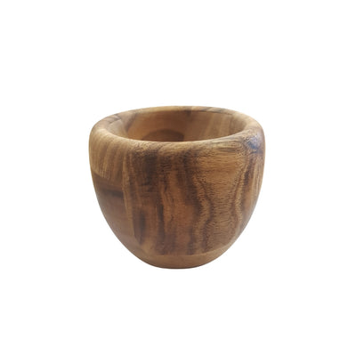 Baroque Mortar and Pestle Acacia Wood from Funky Gifts NZ