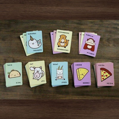 Taco cat goat cheese pizza card game from funky gifts nz
