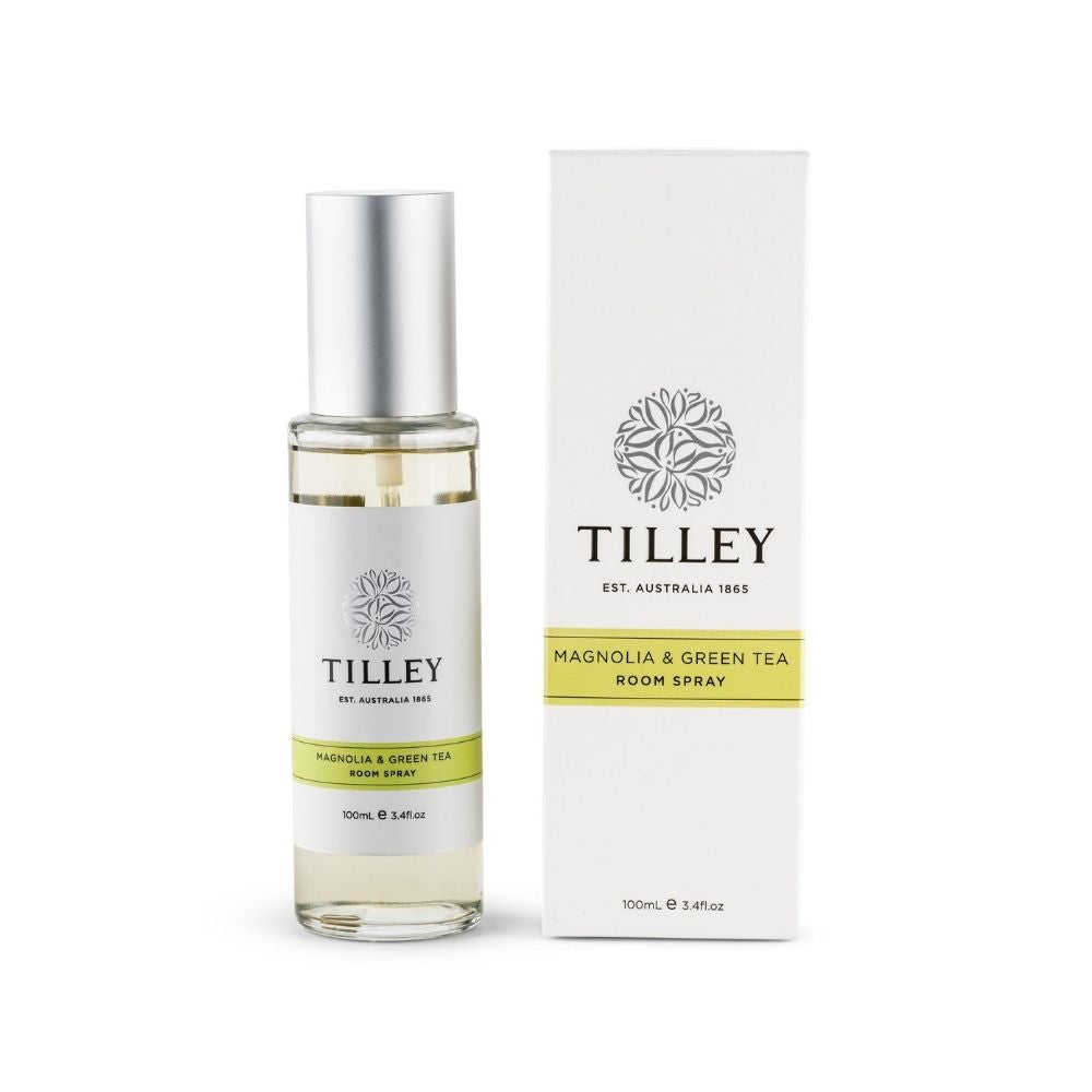 Tilley Magnolia and Green Tea Room Spray from Funky Gifts NZ