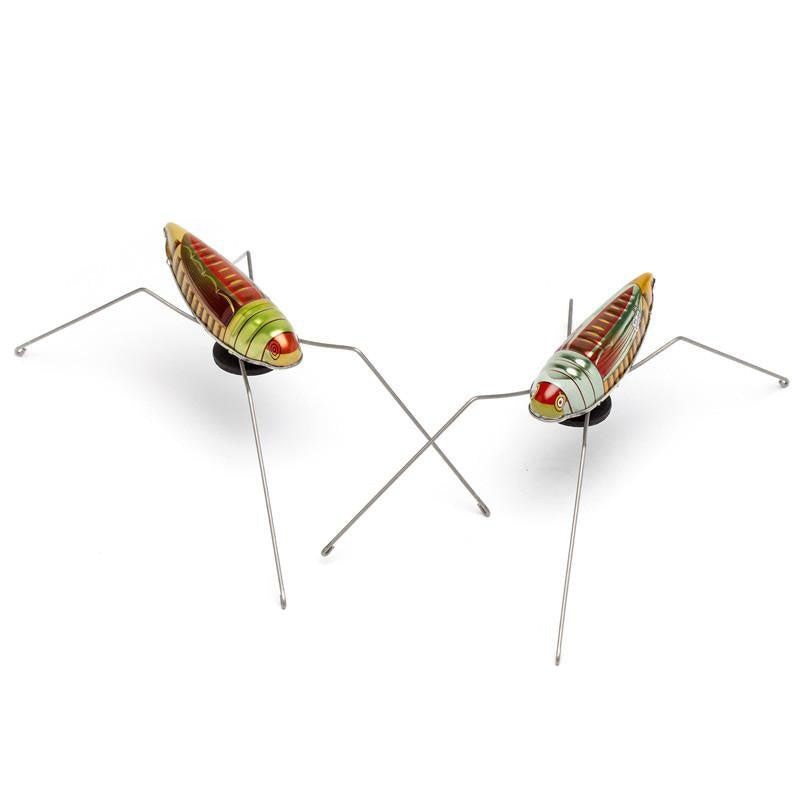 Retro Jumping Grasshopper