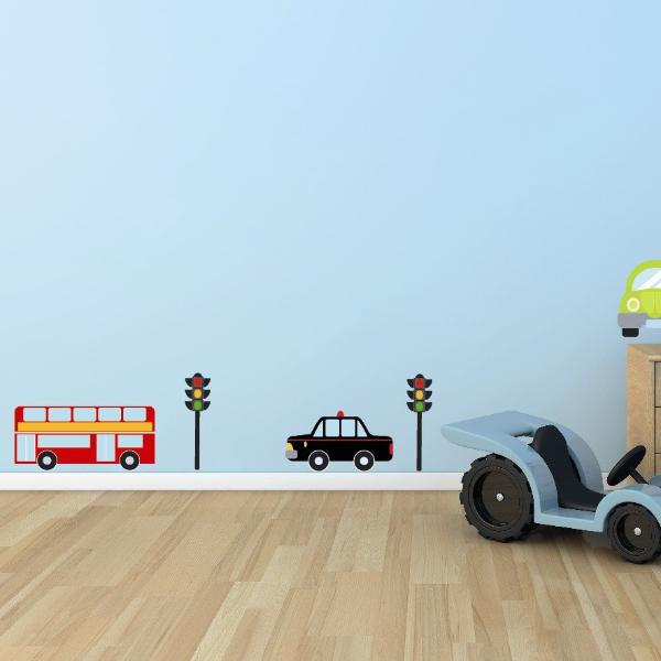 Cars/Traffic Wall Stickers Sets