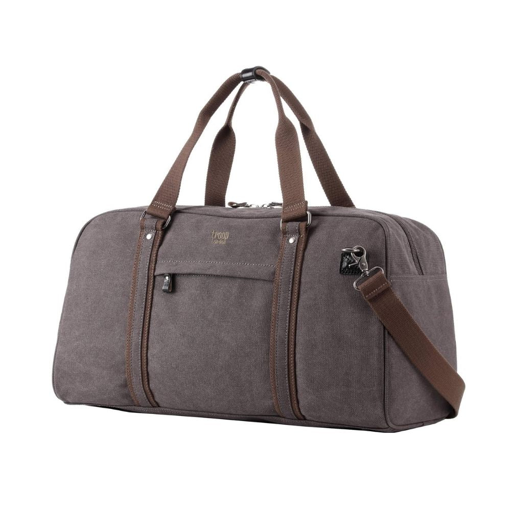 Troop London Duffell Bag Canvas Black from Funky Gifts NZ