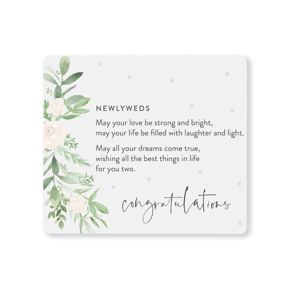 Newlyweds Wedding Verse from Funky Gifts NZ