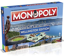 Wellington Edition Monopoly Game Packaging