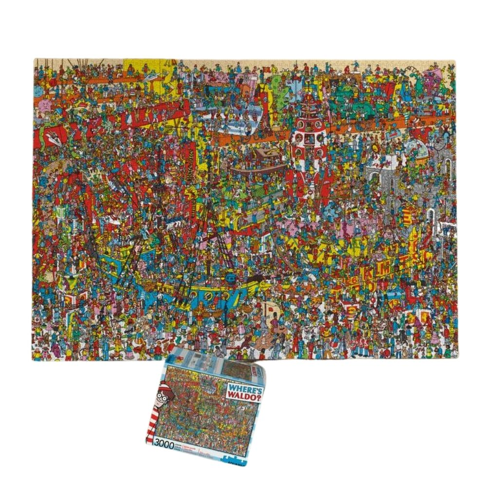 where's waldo 3000 piece jigsaw puzzle from funky gifts nz
