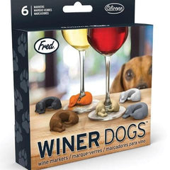 Winer Dog Wine Charms