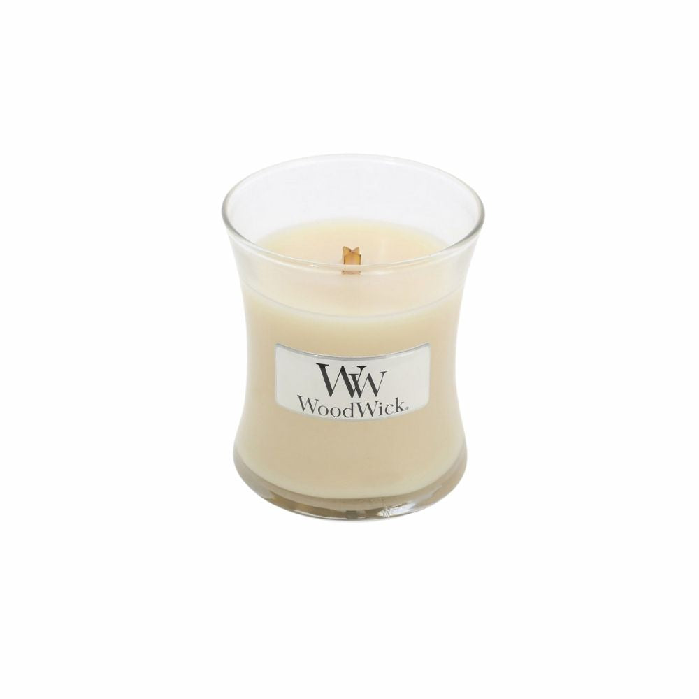 Woodwick Vanilla Bean Small Candle from Funky Gifts NZ