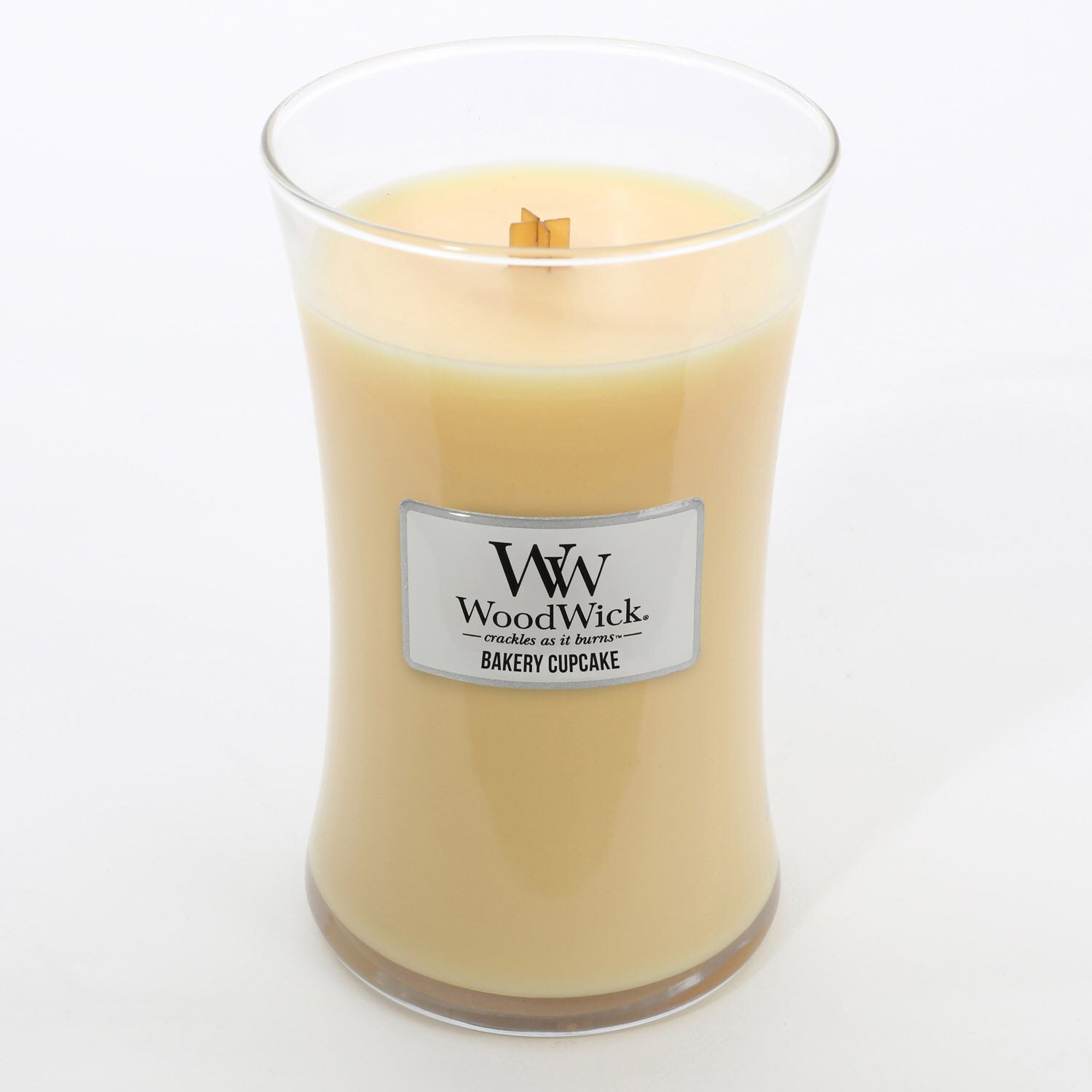 Large Bakery Cupcake Scented WoodWick Soy Candle