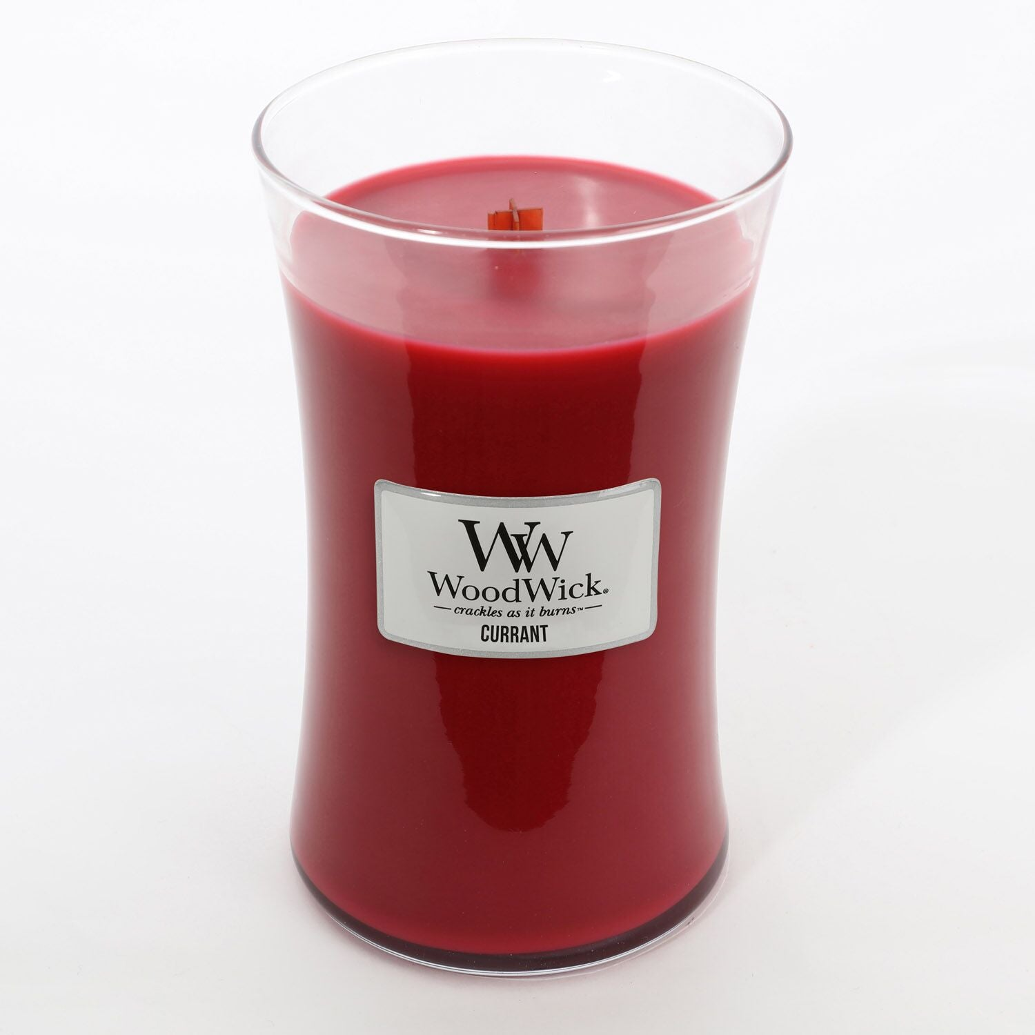 Large Currant Scented WoodWick Soy Candle