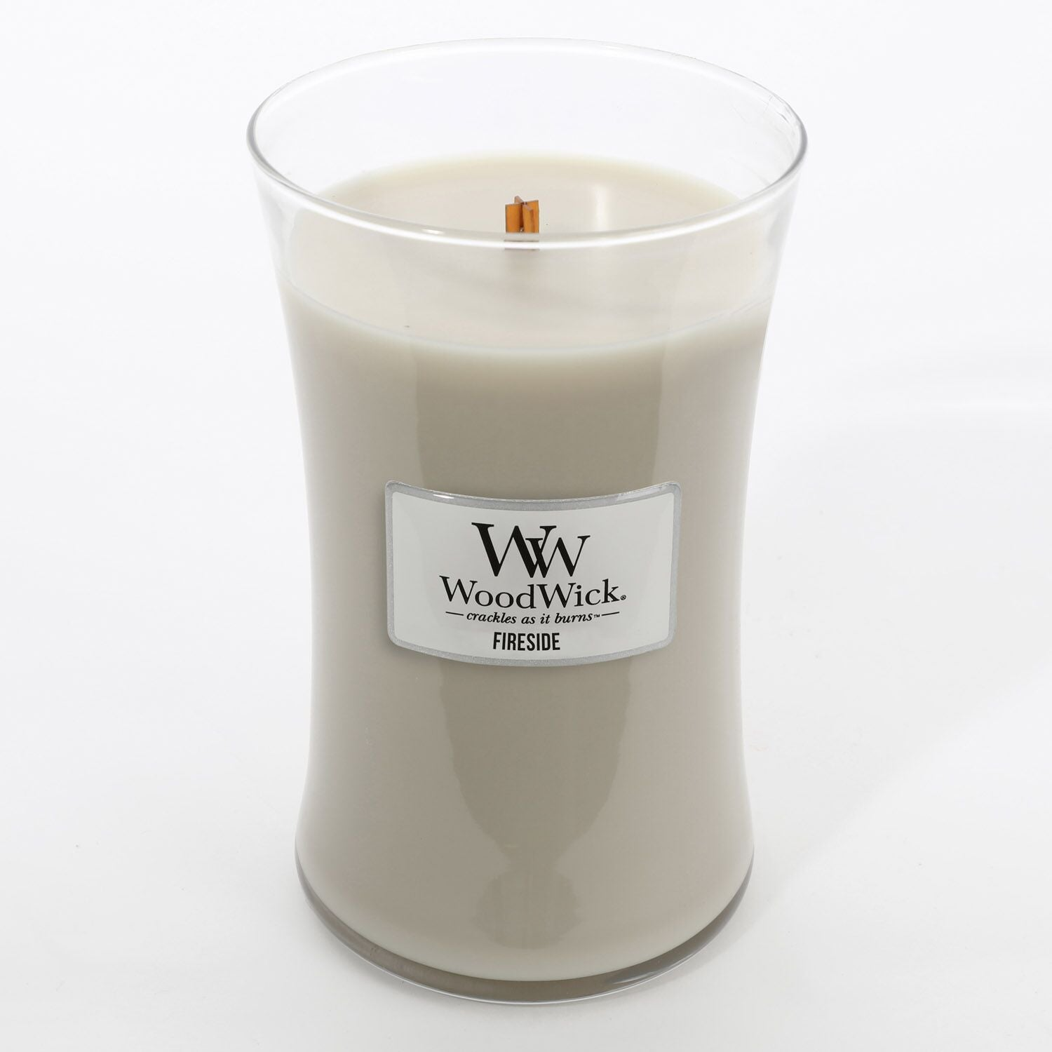 Large Fireside Scented WoodWick Soy Candle