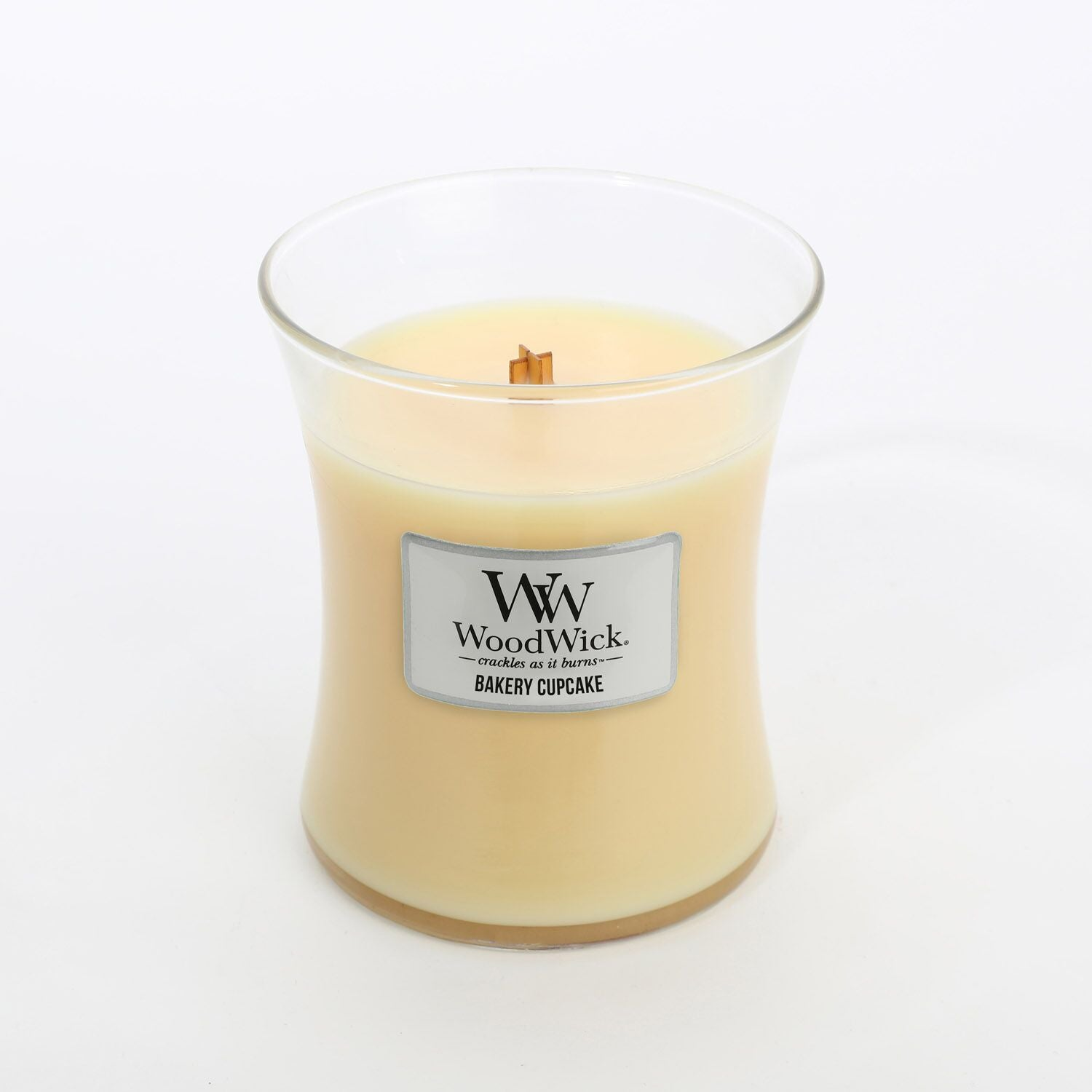 Medium Bakery Cupcake Scented WoodWick Soy Candle