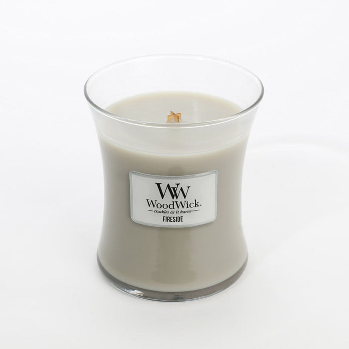 Medium Fireside Scented WoodWick Soy Candle