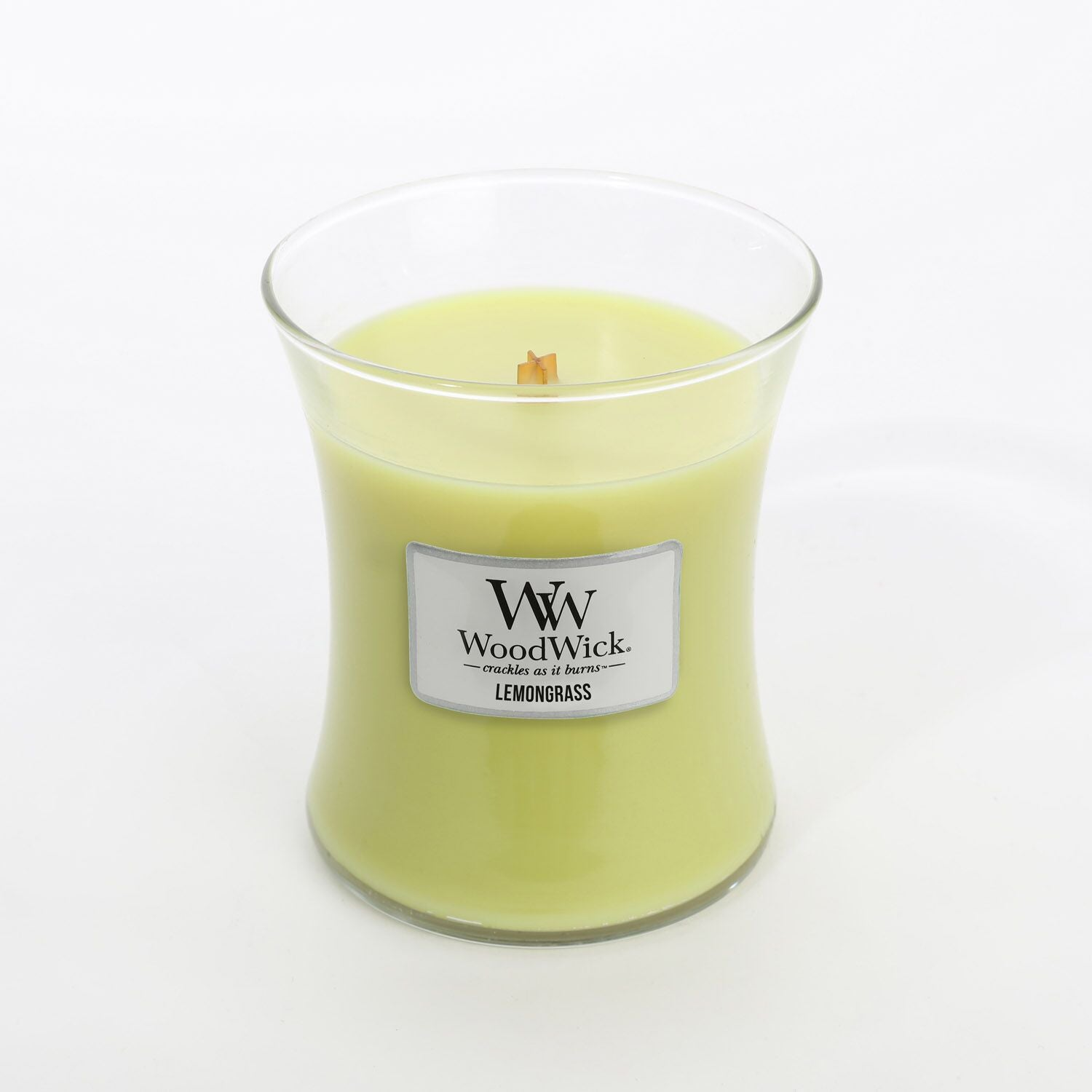 Medium Lemongrass Scented WoodWick Soy Candle