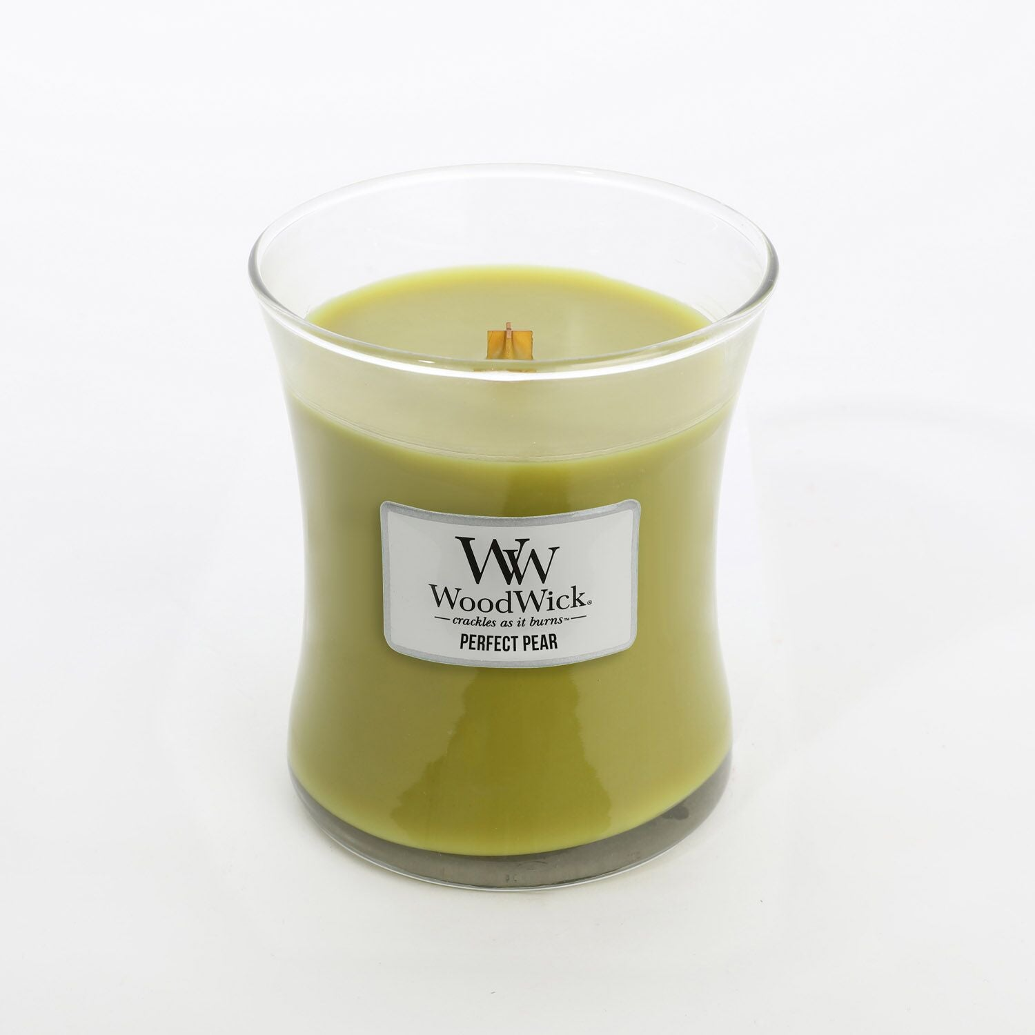 Medium Perfect Pear Scented WoodWick Soy Candle
