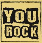 Happiness Rock - YOU ROCK